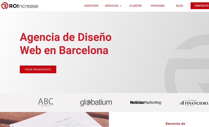roincrease diseno web barcelona