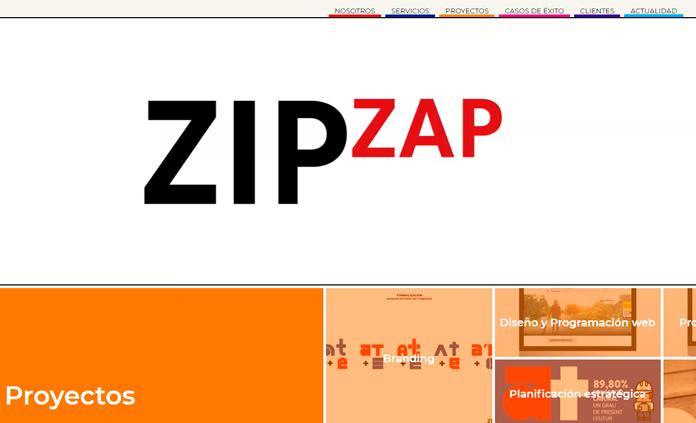 zip zap social branding