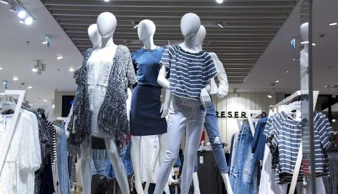 visual tienda de ropa