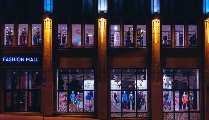 visual merchandising tienda de ropa
